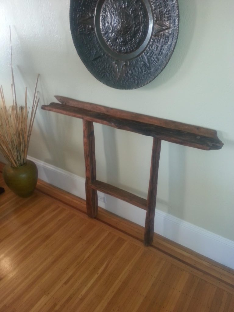 Backboard Console, Reclaimed Douglas Fir